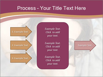 Sensual brunette PowerPoint Template - Slide 85