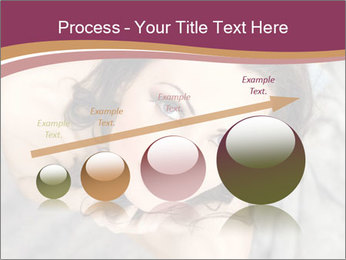 Sensual brunette PowerPoint Template - Slide 87