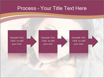 Sensual brunette PowerPoint Template - Slide 88