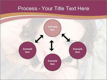 Sensual brunette PowerPoint Template - Slide 91