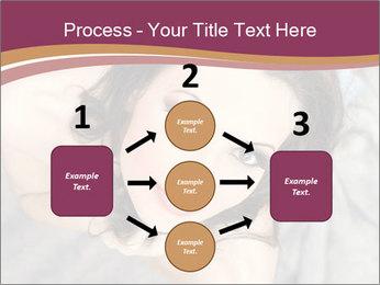 Sensual brunette PowerPoint Template - Slide 92