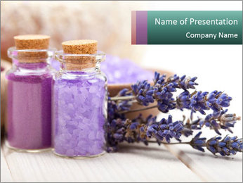 Spa PowerPoint Template - Slide 1