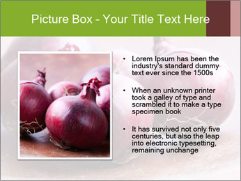 Fresh red onions PowerPoint Templates - Slide 13
