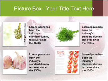 Fresh red onions PowerPoint Templates - Slide 14