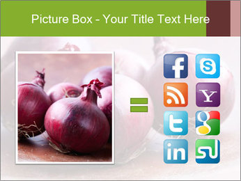 Fresh red onions PowerPoint Templates - Slide 21