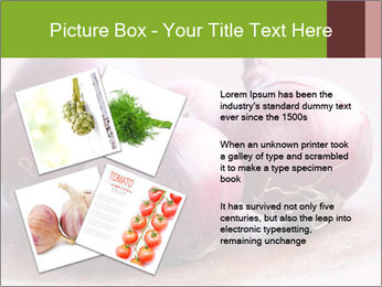Fresh red onions PowerPoint Templates - Slide 23