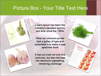 Fresh red onions PowerPoint Templates - Slide 24