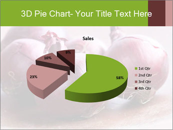 Fresh red onions PowerPoint Templates - Slide 35