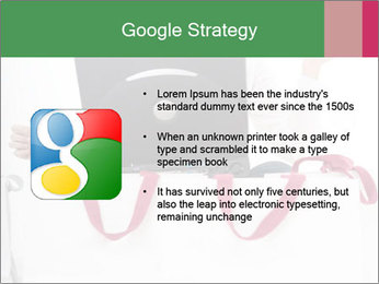 Exstatic young blond PowerPoint Template - Slide 10