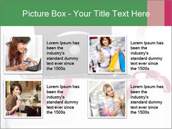 Exstatic young blond PowerPoint Template - Slide 14