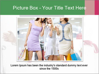 Exstatic young blond PowerPoint Template - Slide 15