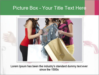 Exstatic young blond PowerPoint Template - Slide 16