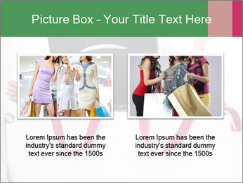 Exstatic young blond PowerPoint Template - Slide 18