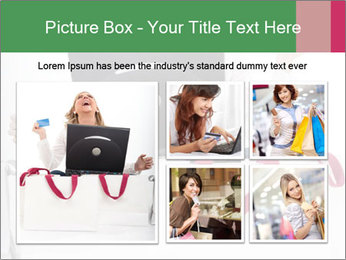 Exstatic young blond PowerPoint Templates - Slide 19