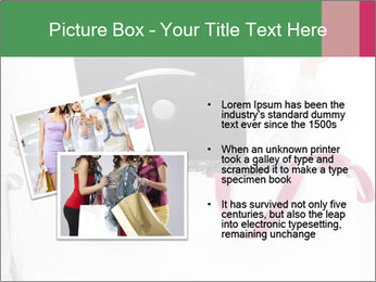 Exstatic young blond PowerPoint Template - Slide 20