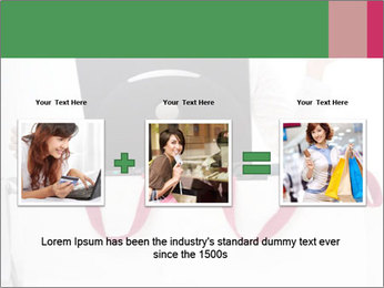 Exstatic young blond PowerPoint Template - Slide 22
