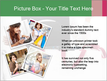 Exstatic young blond PowerPoint Template - Slide 23