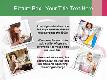 Exstatic young blond PowerPoint Template - Slide 24