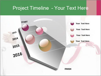 Exstatic young blond PowerPoint Template - Slide 26