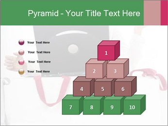 Exstatic young blond PowerPoint Template - Slide 31