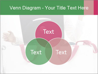 Exstatic young blond PowerPoint Template - Slide 33