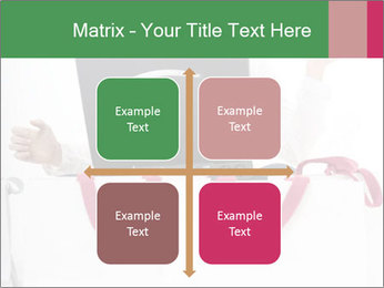 Exstatic young blond PowerPoint Template - Slide 37