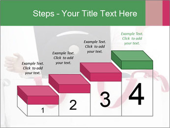 Exstatic young blond PowerPoint Template - Slide 64