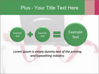 Exstatic young blond PowerPoint Template - Slide 75