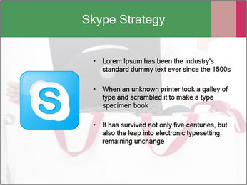 Exstatic young blond PowerPoint Template - Slide 8