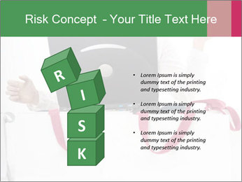 Exstatic young blond PowerPoint Template - Slide 81