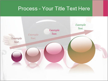 Exstatic young blond PowerPoint Template - Slide 87