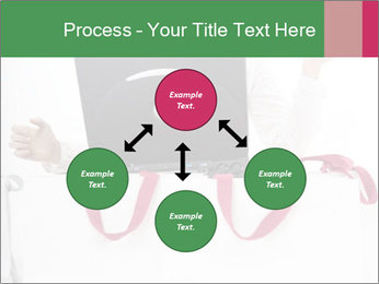 Exstatic young blond PowerPoint Templates - Slide 91