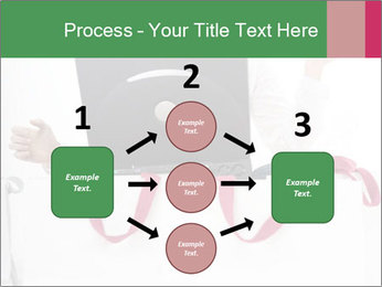 Exstatic young blond PowerPoint Template - Slide 92