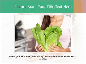 Woman having breakfast PowerPoint Templates - Slide 15