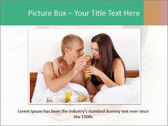 Woman having breakfast PowerPoint Templates - Slide 16