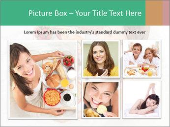 Woman having breakfast PowerPoint Templates - Slide 19