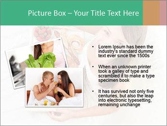 Woman having breakfast PowerPoint Templates - Slide 20