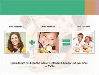 Woman having breakfast PowerPoint Templates - Slide 22