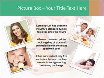Woman having breakfast PowerPoint Templates - Slide 24
