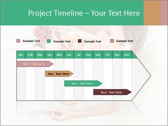 Woman having breakfast PowerPoint Templates - Slide 25