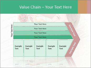 Woman having breakfast PowerPoint Templates - Slide 27