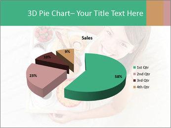 Woman having breakfast PowerPoint Templates - Slide 35