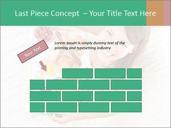 Woman having breakfast PowerPoint Templates - Slide 46