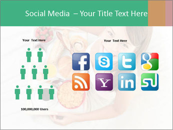 Woman having breakfast PowerPoint Templates - Slide 5