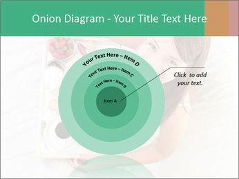 Woman having breakfast PowerPoint Templates - Slide 61