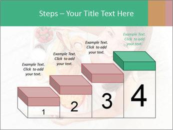 Woman having breakfast PowerPoint Templates - Slide 64