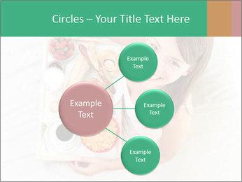 Woman having breakfast PowerPoint Templates - Slide 79