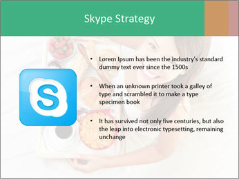 Woman having breakfast PowerPoint Templates - Slide 8