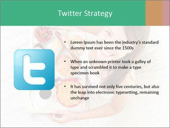 Woman having breakfast PowerPoint Templates - Slide 9