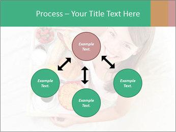 Woman having breakfast PowerPoint Templates - Slide 91